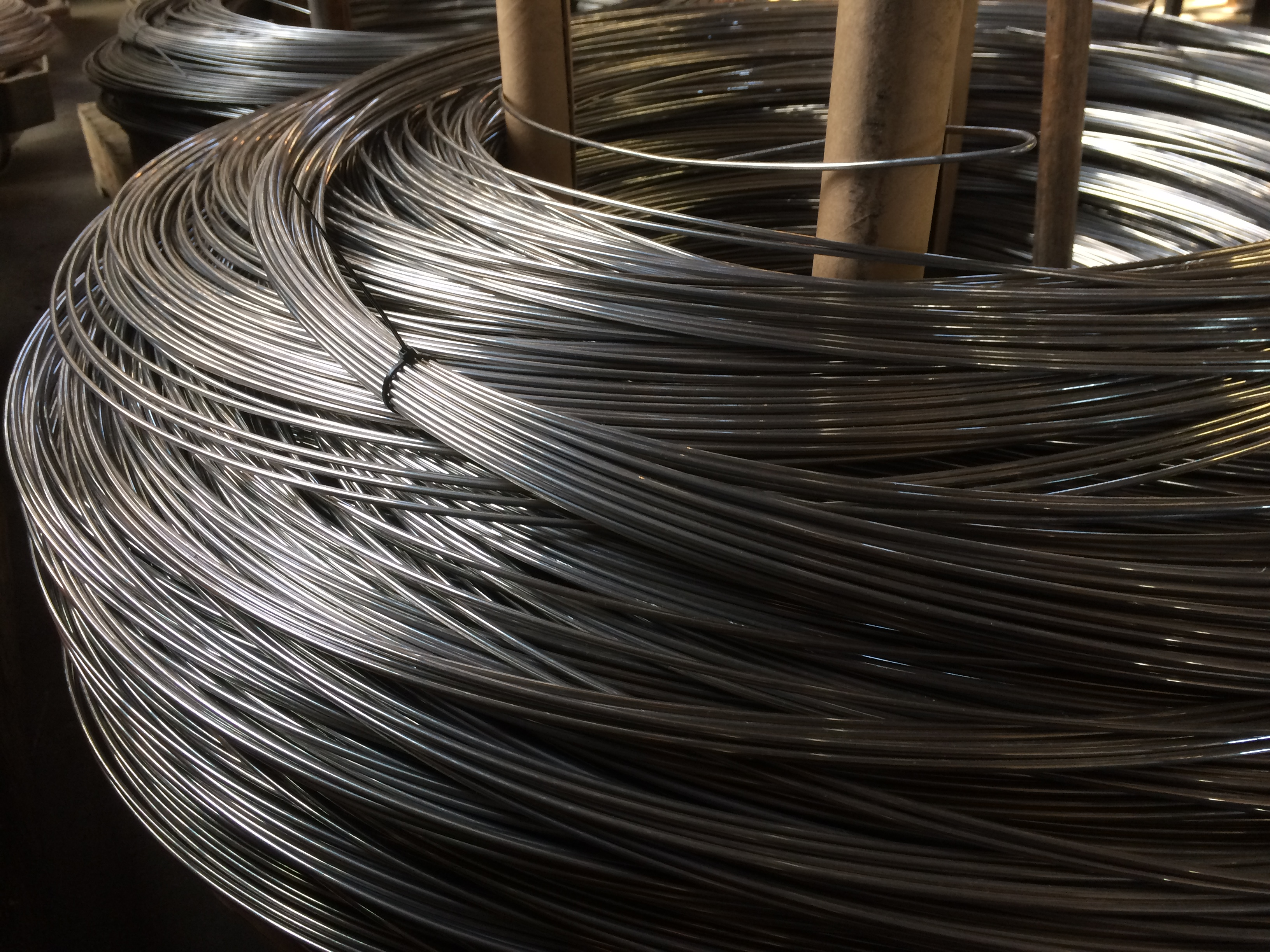 Ferrier aluminum wire on carrier