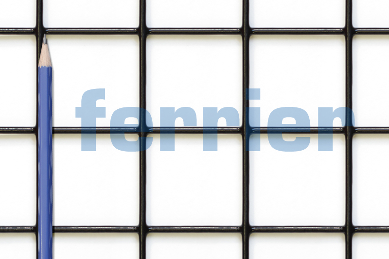 "Ferrier black PVC 2"" x 2"" x 12.5 ga weldmesh"