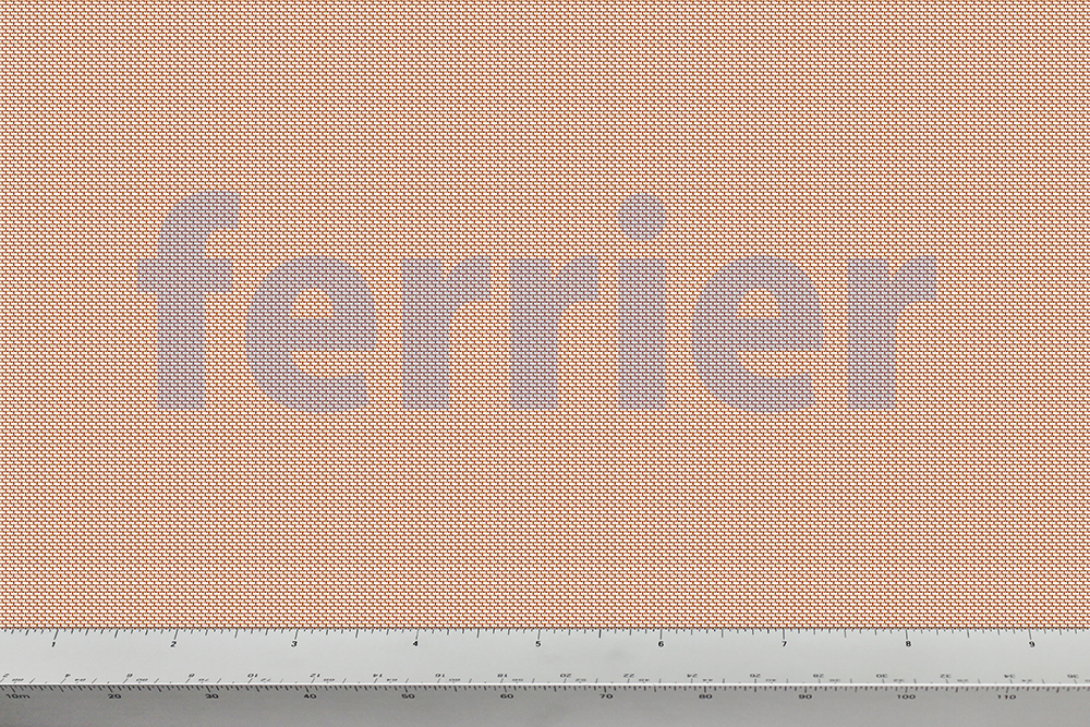 Ferrier copper 30 x 30 mesh x .012 weavemesh