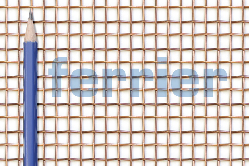 Ferrier copper 4 x 4 mesh x .047 weavemesh