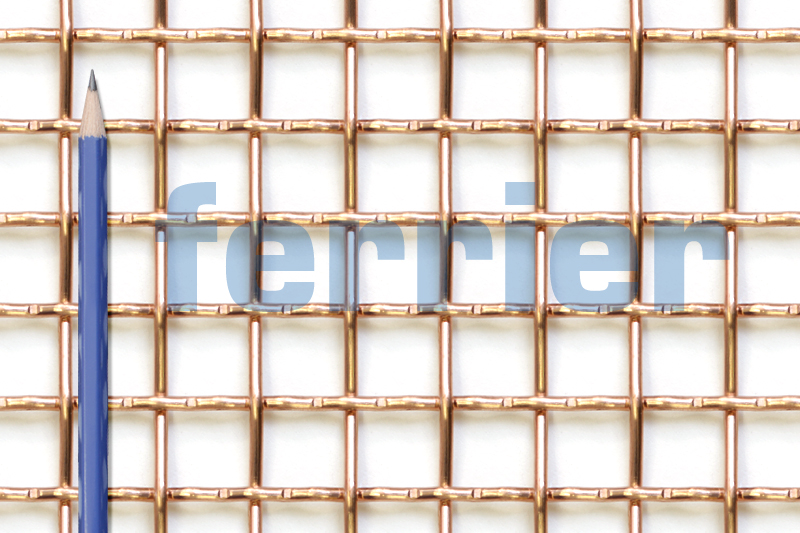 Ferrier copper 2 x 2 mesh x .080 weavemesh