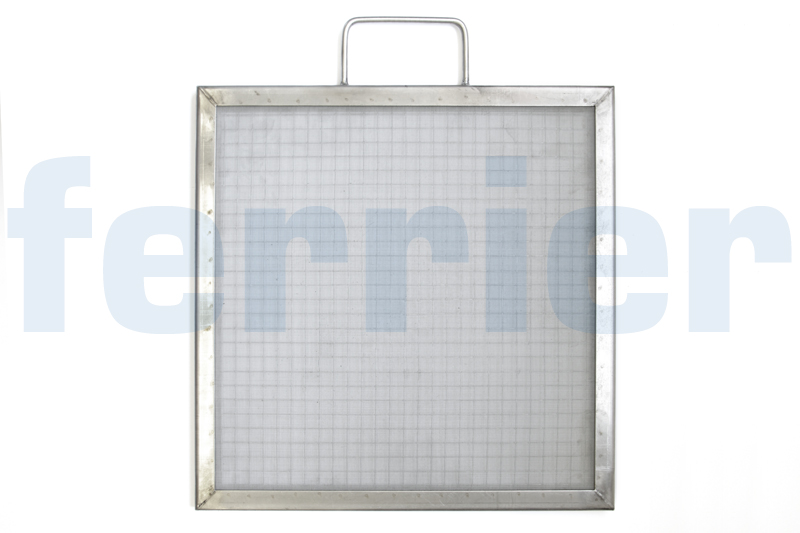 Ferrier lint screen