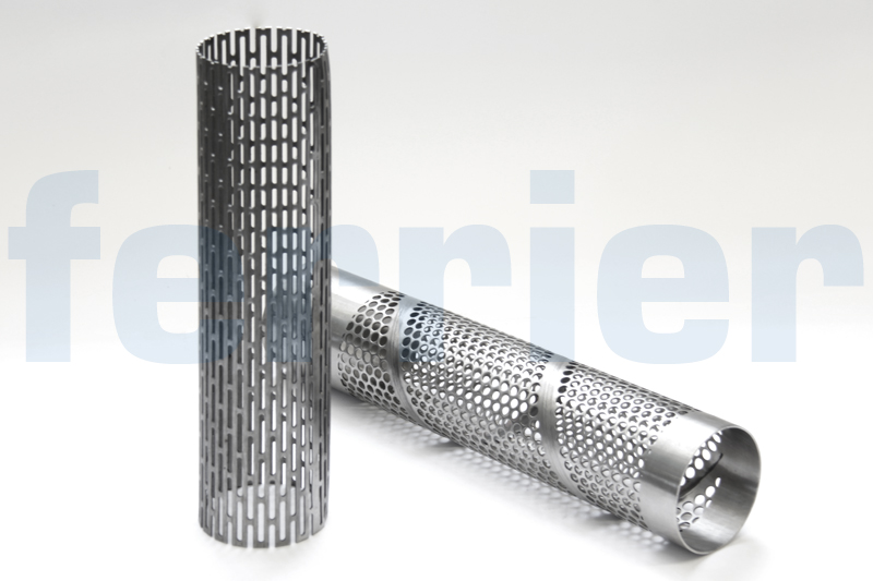 Ferrier perforated cylinders