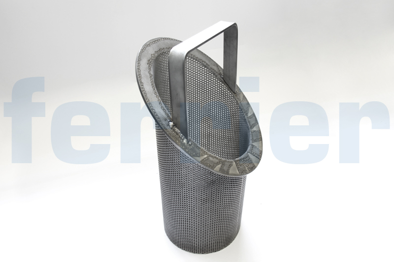 Ferrier stainless steel strainer