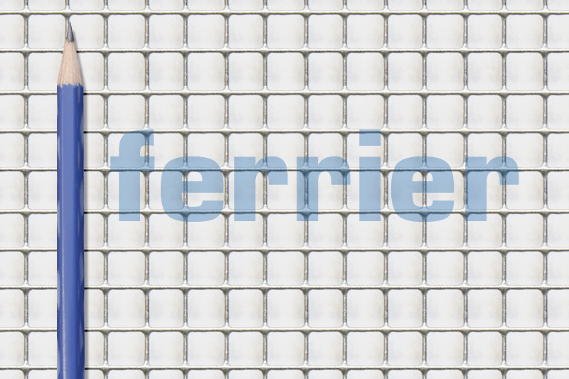 Ferrier HC 8 mm x 8mm x .8mm WELDED