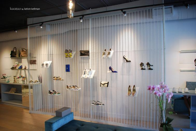 Luxury Boutique Shoe Salon, Toronto, Ontario.